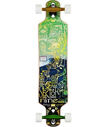 "Sector 9 Bintang 38"" Drop Through Complete Longboard"