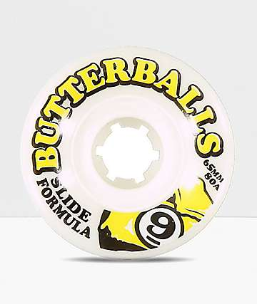 Sector 9 Butterballs 65mm Slide Formula Longboard Wheels