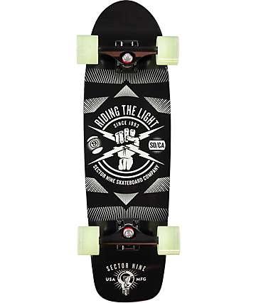 """Sector 9 Firebolt Lumithane 30"""" Cruiser Complete Skateboard"""