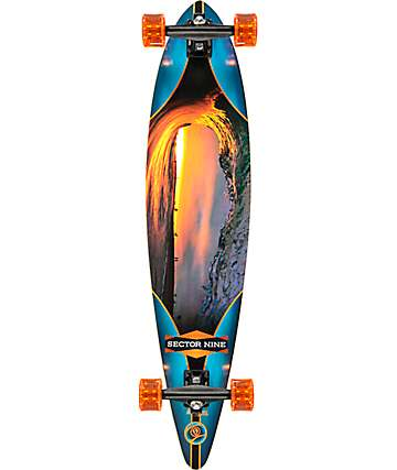 "Sector 9 Ledger 40"" Longboard Complete"