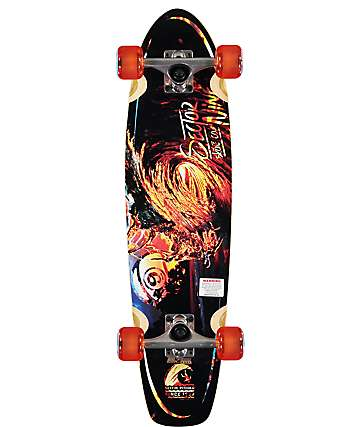 "Sector 9 Liquid Metal 31.6"" Cruiser Complete"