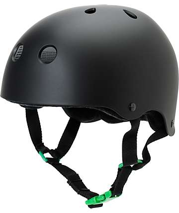 Sector 9 Logic 2 Matte Black Skateboard Helmet