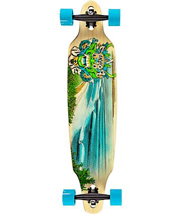 "Sector 9 Lookout Bamboo 41.125"" Drop Through Longboard Complete"