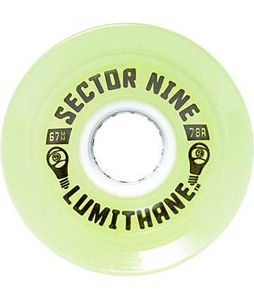 Sector 9 Lumithane Glow 67mm ruedas longboard