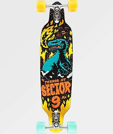 "Sector 9 Mini Fractal Jepson 34"" longboard completo"