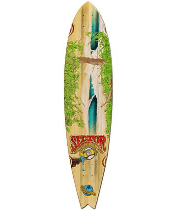 "Sector 9 NICA 39.5"" Longboard Deck"