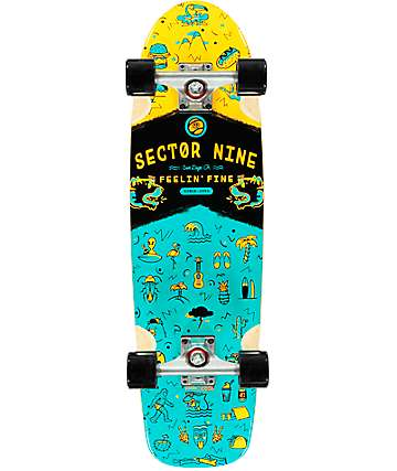"Sector 9 Shindig 30"" Cruiser Complete Skateboard"