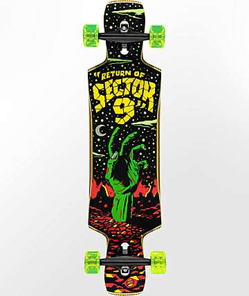 "Sector 9 Static Jepson 40"" longboard completo"