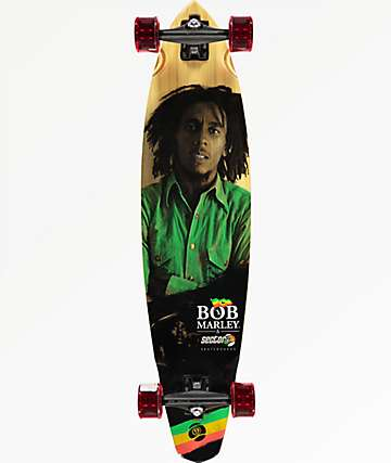 "Sector 9 x Bob Marley Exodus 39"" pintail longboard completo"