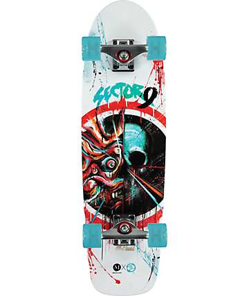 "Sector 9 x Meggs Shogun Assassin 30""  Cruiser Complete Skateboard"