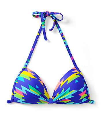 Since By Malibu Eagles Wing Molded Cup Bikini Top