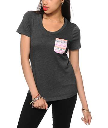 Sirens & Dolls Eye Of The Beholder Pocket T-Shirt