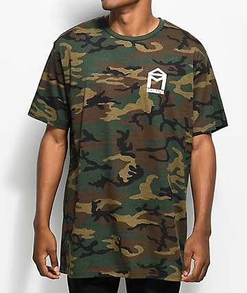 Sk8 Mafia House Logo camiseta camuflada