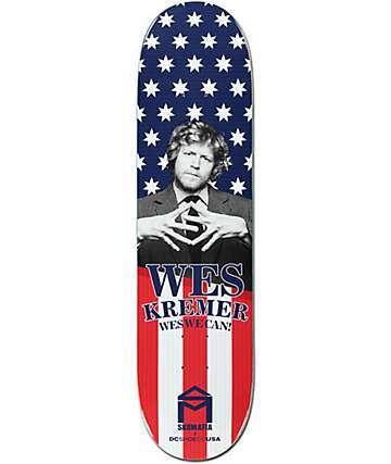 "Sk8 Mafia x DC Wes We Can 8.0"" Skateboard Deck"