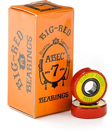 Sk8mafia Big Red Rasta Skateboard Bearings