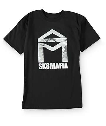 Sk8mafia House Logo Black T-Shirt