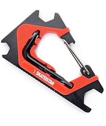 Sk8ology Skateistan Red Carabiner Skateboard Tool