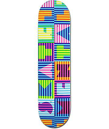 "Skate Mental Block Block 7.875"" Skateboard Deck"