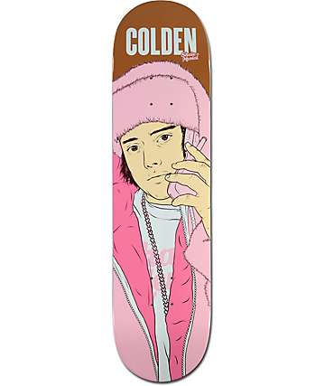 "Skate Mental Colden All Pink Everything 8.0""  Skateboard Deck"