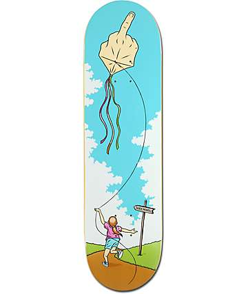 "Skate Mental Colden Bird Kite 8.375""  Skateboard Deck"