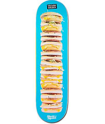 "Skate Mental Colden Burger Stack 8.25"" Skateboard Deck"