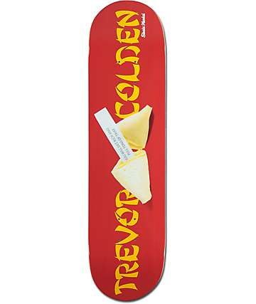 "Skate Mental Colden Fortune Cookie 8.0""  Skateboard Deck"