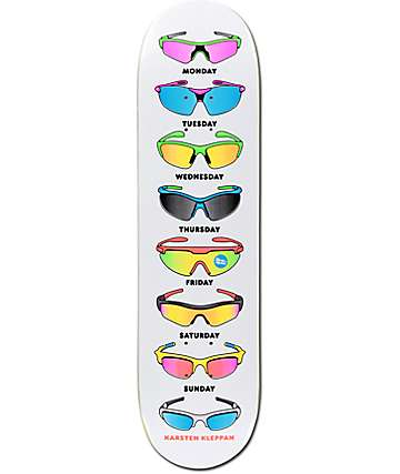 "Skate Mental Kleppan Sunglasses 8.12"" Skateboard Deck"