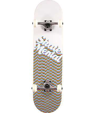"Skate Mental Logo Repeat 8.0"" Skateboard Complete"