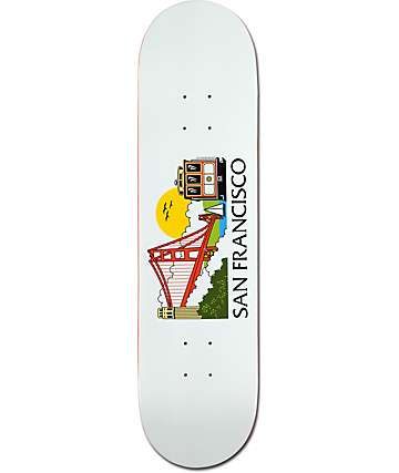 "Skate Mental San Francisco Tourist 8.0"" Skateboard Deck"