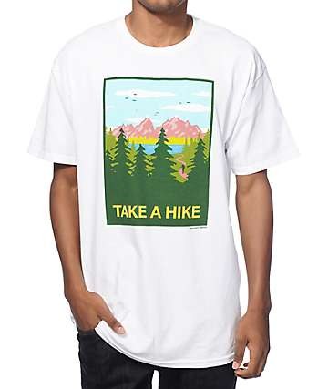 Skate Mental Take A Hike T-Shirt