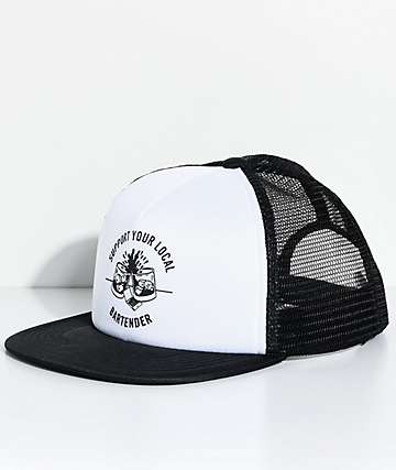 Sketchy Tank Bartender Black Trucker Hat