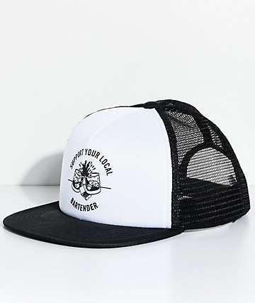 Sketchy Tank Bartender Black Trucker Hat