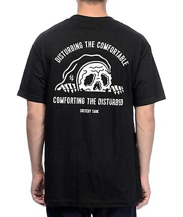 Sketchy Tank Comfort camiseta negra