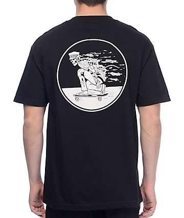 Sketchy Tank Daggers Black T-Shirt