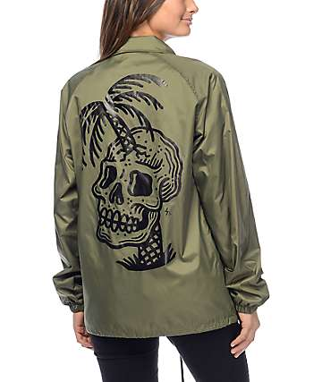 Sketchy Tank Dead Summer Olive Coaches Jacket