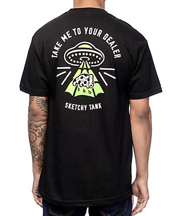 Sketchy Tank Dealer Black T-Shirt