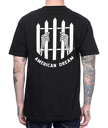 Sketchy Tank Dream Black T-Shirt