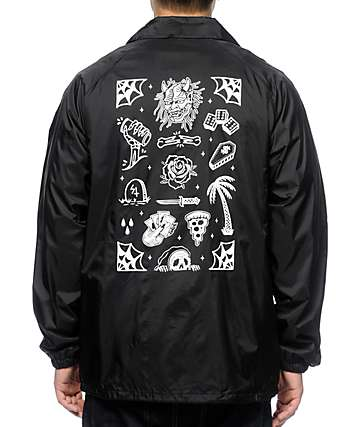 Sketchy Tank Flash Black Coach Jacket