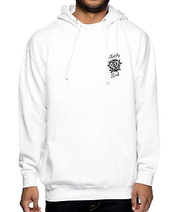 Sketchy Tank Flash White Hoodie