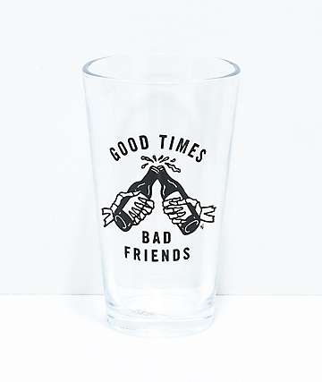 Sketchy Tank Good Times 2 Pack Pint Glasses