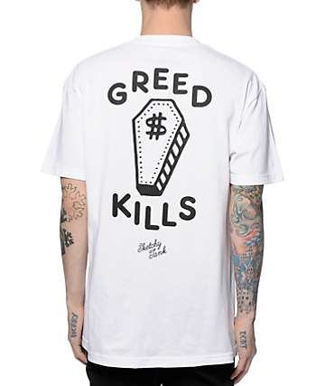 Sketchy Tank Greed T-Shirt
