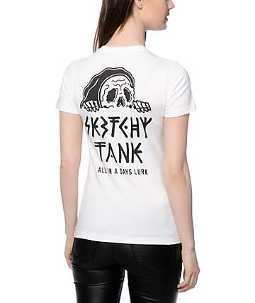 Sketchy Tank Lurk Hard T-Shirt