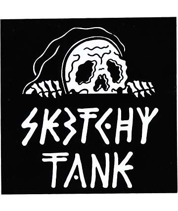 Sketchy Tank Lurk Sticker