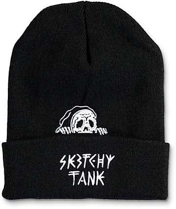 Sketchy Tank Lurk gorro negro