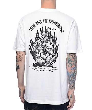 Sketchy Tank Neighborhood camiseta blanca