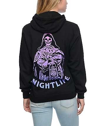 Sketchy Tank Nightlife Neon Hoodie