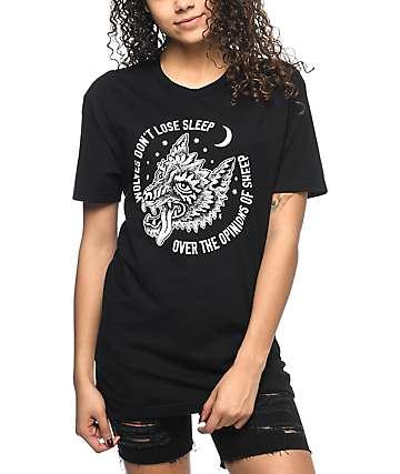 Sketchy Tank Opinions Black Boyfriend T-Shirt