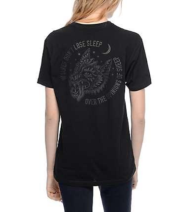 Sketchy Tank Opinions Black T-Shirt