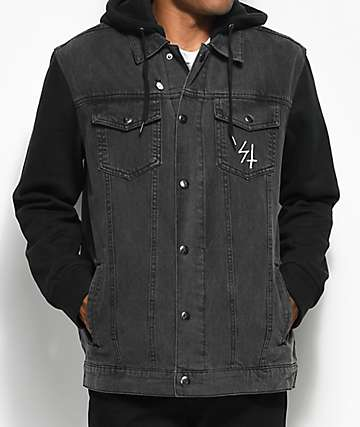 Sketchy Tank Prowler Acid 2Fer  Denim Jacket