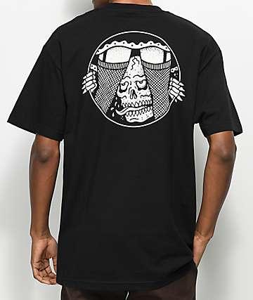 Sketchy Tank Under Black T-Shirt
